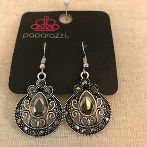 Victorian style antiqued earrings